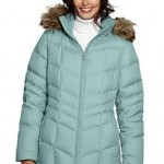 A Pretty, Practical Present: Land's End Women's Chevron Down Parka