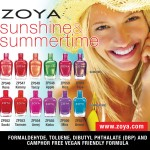 Zoya Nail Polish brings us Sunshine and Summertime!