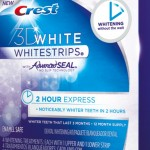 "Sponsored: Crest 3D White 2 Hour Express Whitestrips:  ""Before"""