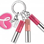 Shop Pink Clinique: The Great Lips Great Cause Set with Key Ring