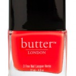 Get the look of Pantone's Color of the Year Tangerine Tango with butter LONDON!