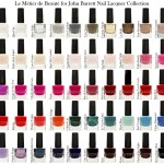 Le Métier de Beauté for John Barrett Nail Lacquer Collection