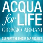 Giorgio Armani's Acqua for Life program