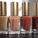 L'Oreal Paris Colour Riche New York Nudes Nail Collection