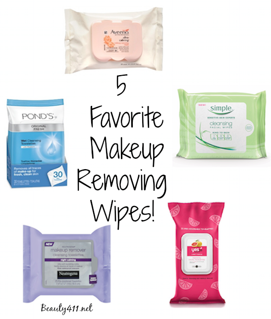 favorite makeup removing wipes