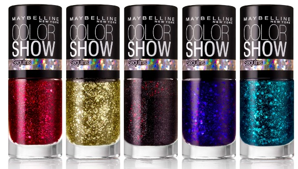 Maybelline New York Color Show Fashion Prints Nail Stickers & Sequin ...