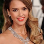 Red Carpet Beauty: Jessica Alba at the Golden Globes