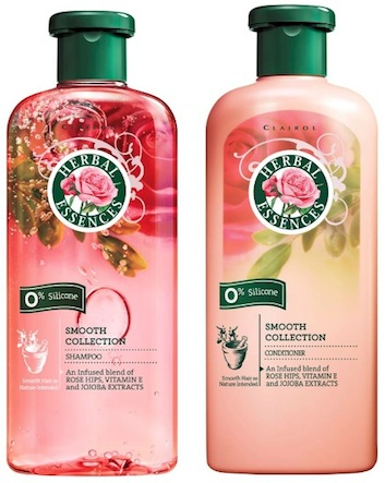 Herbal-Essences-Smooth-Shine-Collection Top Shampoo Brands–Top 15 Shampoo and Conditioner Brands 2018