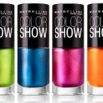 Maybelline New York Color Show Nail Lacquer Goes Electric!