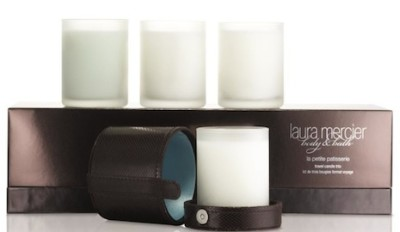 Laura Mercier Patisserie Travel Candle Trio