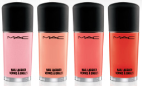 MAC All-About-Orange-Nail-Lacquers
