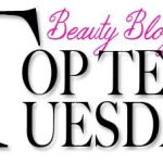 Top 10 Tuesday: What's in my Shower?