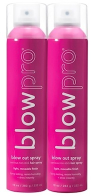 blowpro blow out serious nonstick hair spray