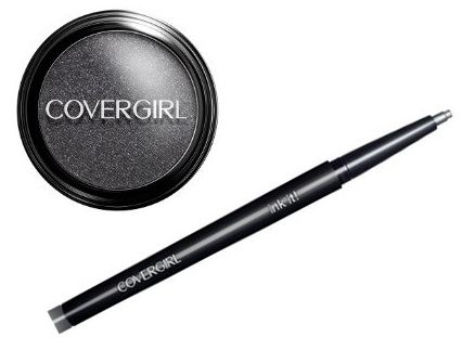 COVERGIRL Molten Black eyeshadow and liner
