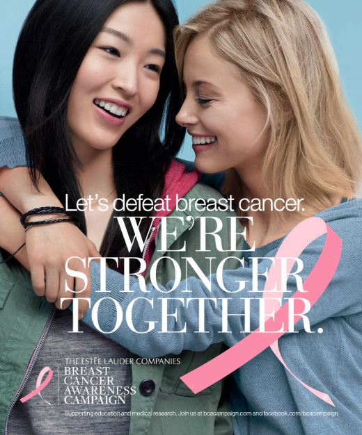 Estee Lauder 2013 BCA Campaign - Stronger Together