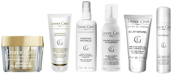 Leonor Greyl hair products-grp