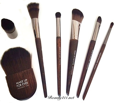 Make Up For Ever Artisan Brush Collection