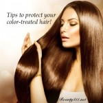 Tips to Protect Color-Treated Hair!