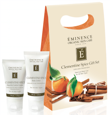 Eminence Organic Clementine Spice Gift Set