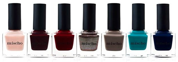 Mischo Beauty Fashion Week Nail Lacquer Collection-grp