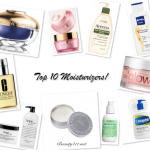 Top Ten Tuesday: Top 10 Moisturizers