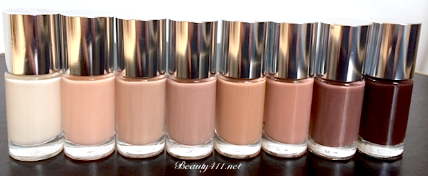 Clinique nail enamel lineup