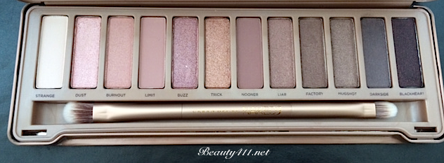 Urban Decay NAKED3-open
