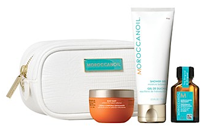 moroccanoil cleanse travel luxuries set