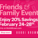 Bobbi Brown Friends & Family Event!