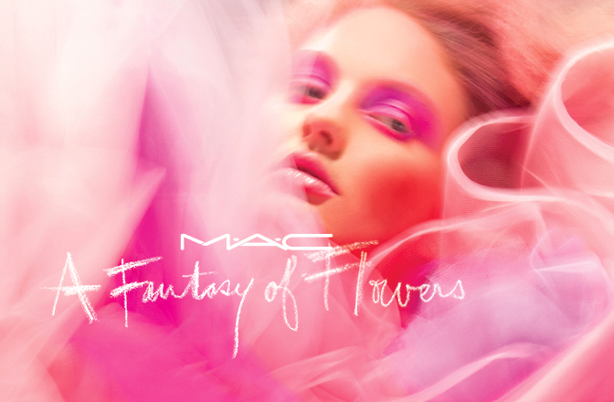 MAC A Fantasy of Flowers banner