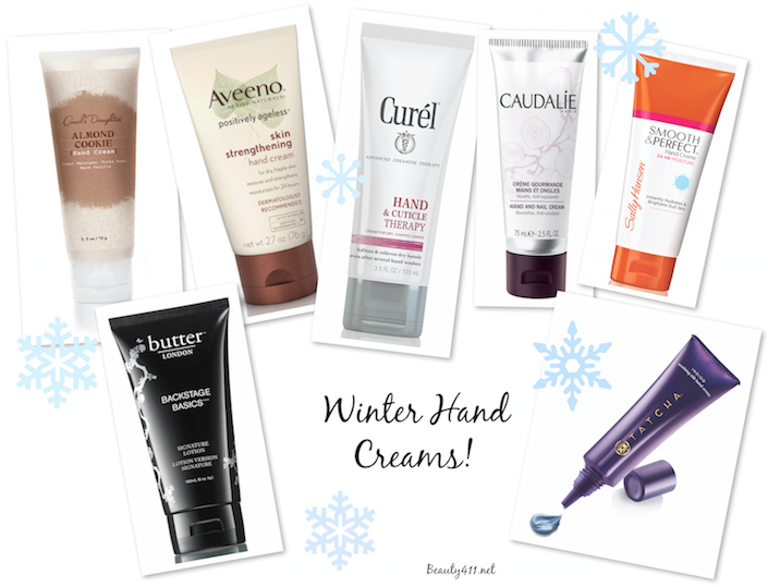 Winter Hand Creams banner