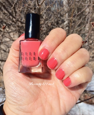 Bobbi Brown Nectar Nail Polish Swatch