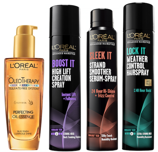 loreal hair styling products get the look biel at the 86th academy awards 2369 | LOreal Advanced Hair products grp