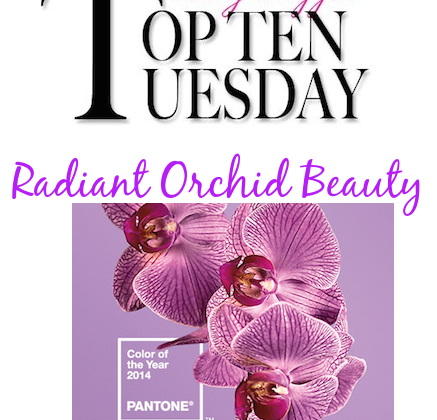 Top 10 Tues-Radiant Orchid banner