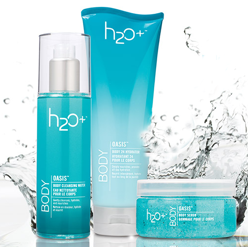 H2OPlus Oasis Body Collection-group