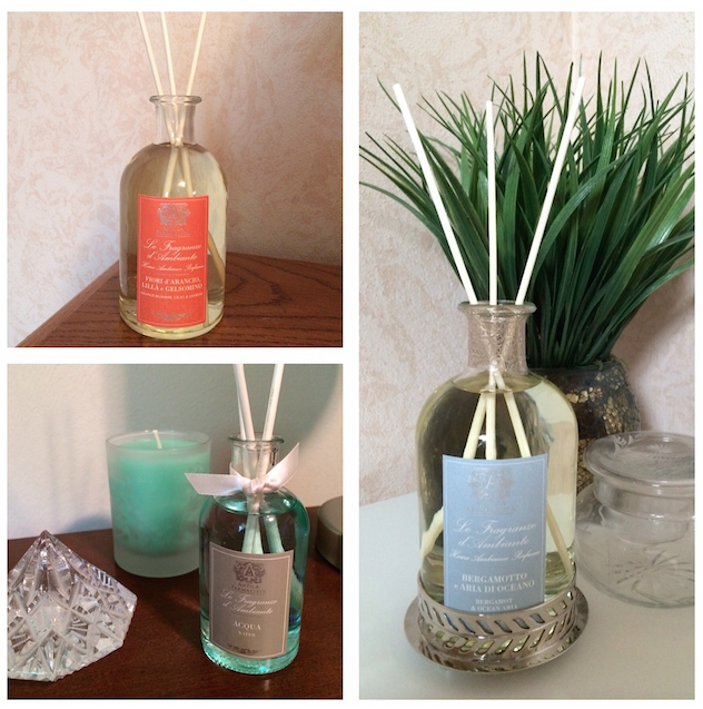 Antica Farmacista home ambience reed diffusers