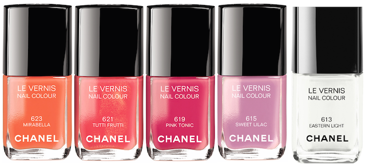 CHANEL Summer 2014 Le Vernis - group