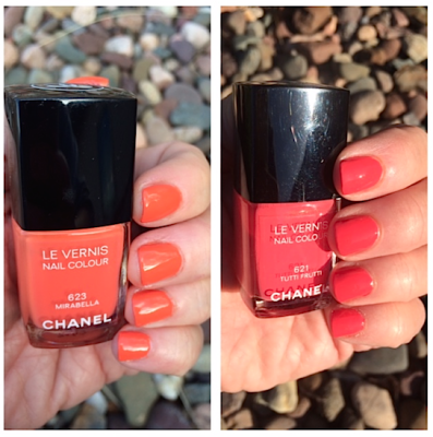 CHANEL Summer 2014 Le Vernis swatches