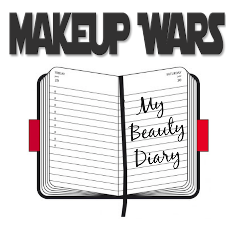 Makeup Wars beauty diary banner