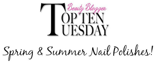 Top 10 Spring Summer Nail Polishes banner