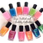 Zoya Tickled and Bubbly Nail Polish Collections