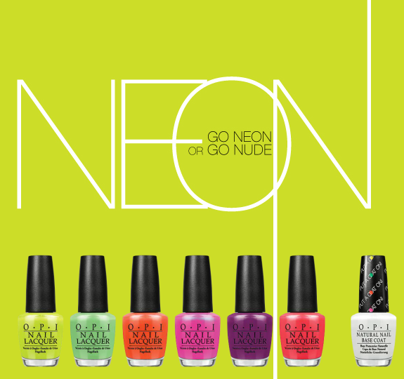 OPI Neon Collection-Summer 2014