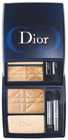 Dior 3-Couleur Smoly Gold Eyeshadow Palette