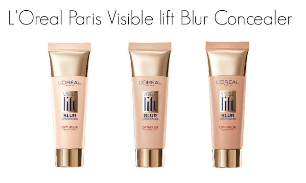 LOreal Paris Visible Lift Blur Concealer shades