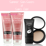 Neutrogena® Summer Skin Savers at Sam's Club!