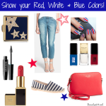 Show your colors with red, white & blue!