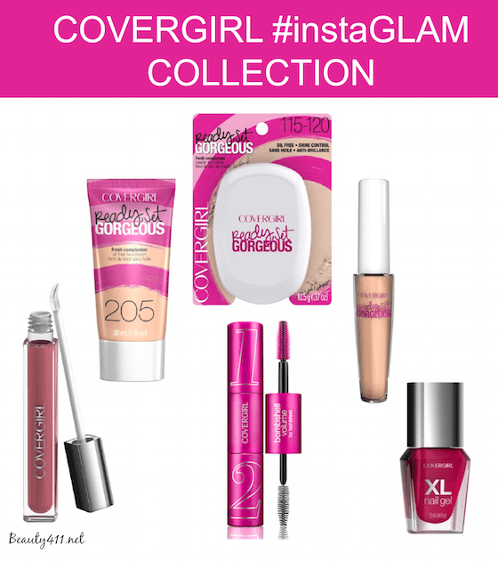 COVERGIRL instaGLAM Collection-grp