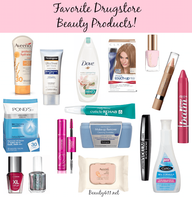 Favorite Drugstore Beauty Products-grp