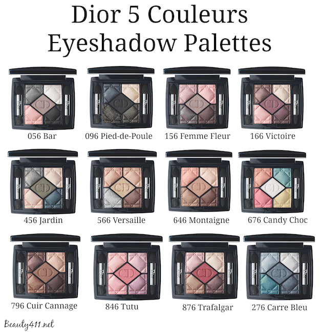 Dior 5 Couleurs Eyeshadow Palettes Fall 2014-group