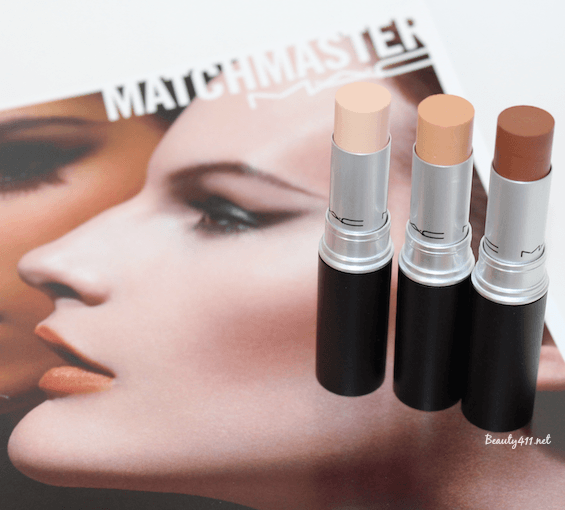 MAC Matchmaster concealer preview shades